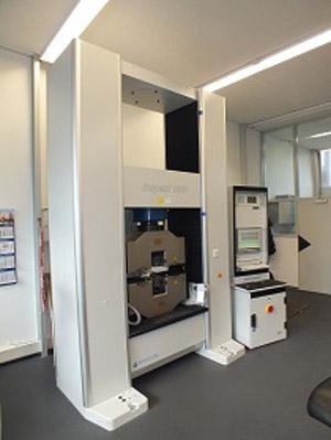 neue elektromechinsche Universalprüfmaschine 1000 kN